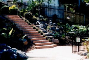 Exterior steps bult by KCP
