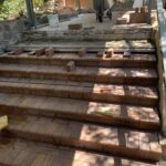 Steps after work by Keppel Coast Paving